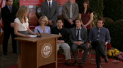 9x13 Lucy gives speech