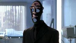 9x3 Mask Tattoo