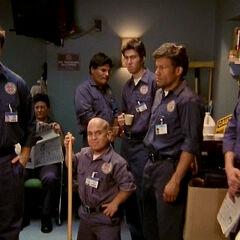 The Janitors' closet