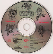 Gwar scumdogs of the universe disc