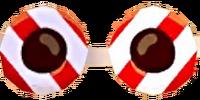 Yuletide Candy Glasses