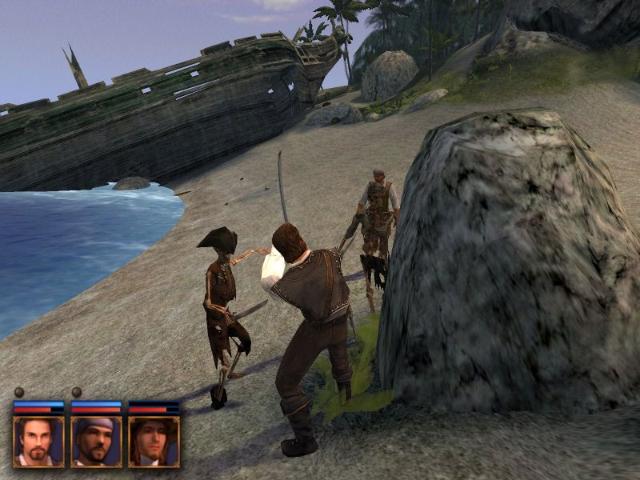 Название: Корсары 2: Пираты Карибского Моря Дата: 2003 Жанр: Action RPG Pri