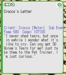 Crocco's Letter