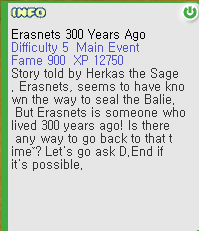 Erasnets 300 Years Ago