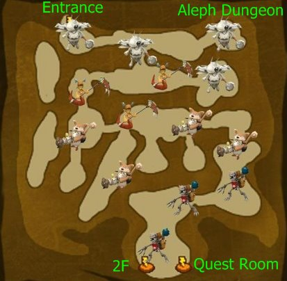 Aleph Dungeon 1F
