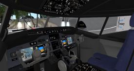 Boeing 737-800 cockpit(E-Tech)
