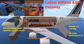 A380 cutaway