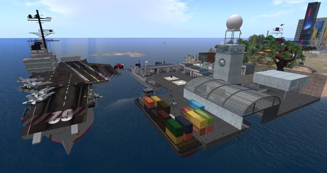 File:USS Nimitz Carrier, looking SW (11.13).png