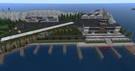 Juneau Regional Airport, looking east (02-15)