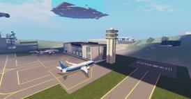 SLJU airport tarmac & terminal