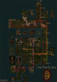 Map - Caledon National Rail System