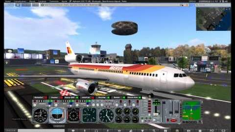 Second Life EG-Aircraft DC10 Iberia SLNH SLHA
