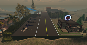 Quantum Dynamics Airfield