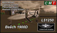 Beech 1900D (Coltercraft) Promo