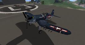 Vought F4U Corsair (EG Aircraft) 1