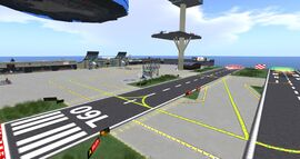 Grenadier Marina & Airport, looking NE (12-13) 001