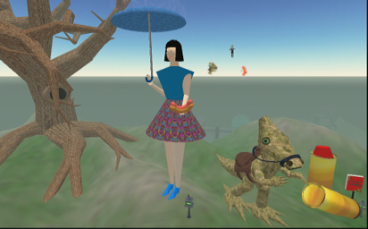 File:Burning Life 2003 - Giant Woman, Tree, And Alien Creature.jpg