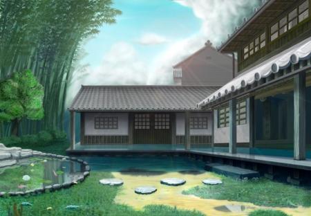Kurova kuca Modern-japanese-house-animejapanese-house---other-anime-background-wallpapers-on-desktop-1tdamsqx