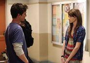 Daran Kagasoff as Ricky and Shailene Woodley as Amy