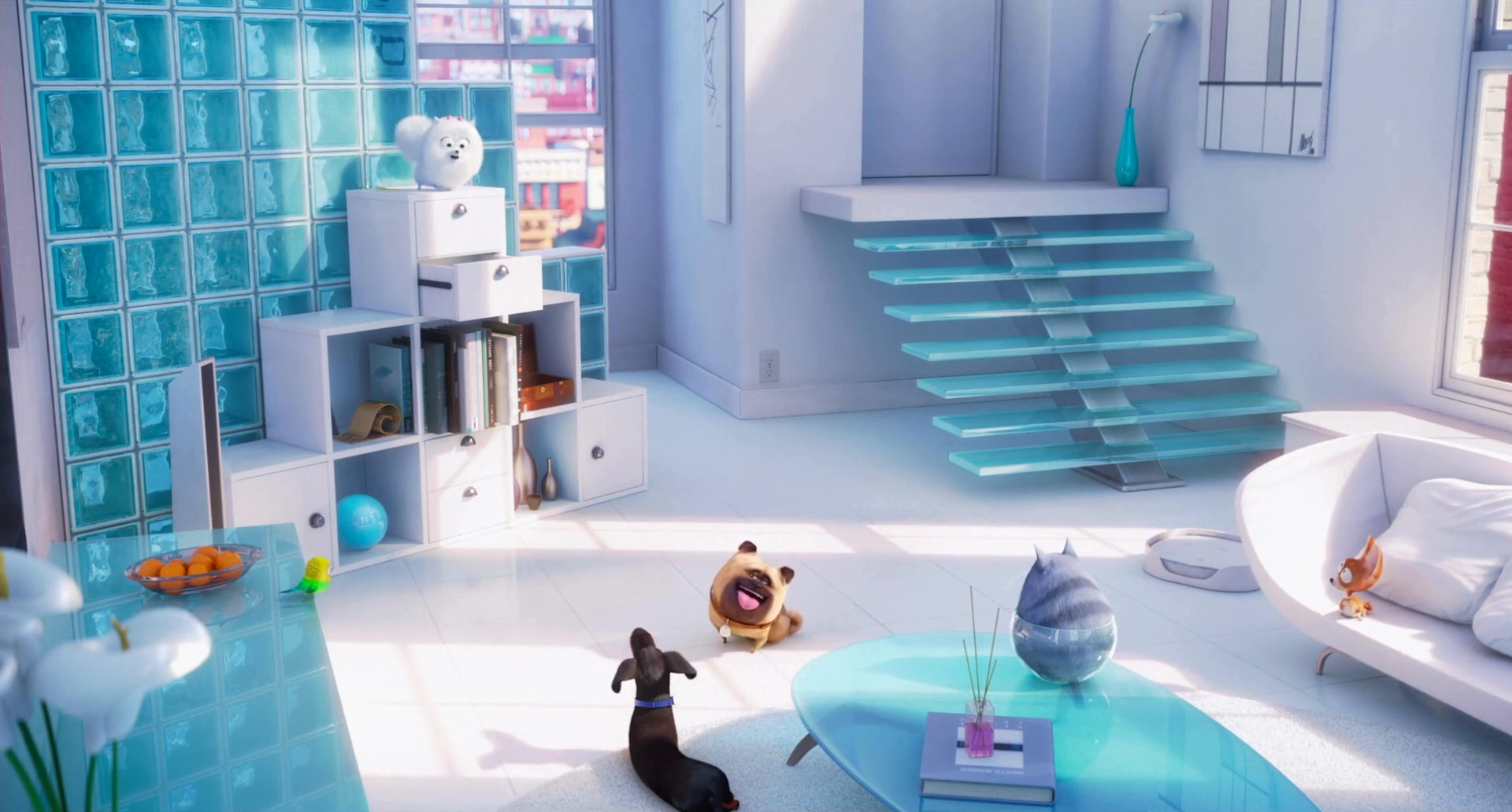 Gidget S Apartment The Secret Life Of Pets Wiki Fandom
