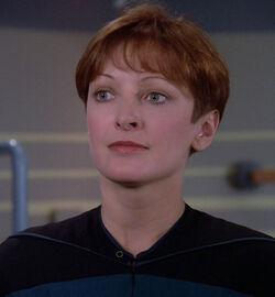 Dawn Arnemann Star Trek TNG