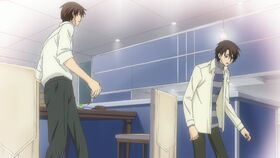 After Chiaki pushes Hatori away ep06