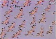 Feet feet feet