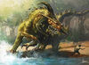 Dinosaur Demon by nJoo.jpeg