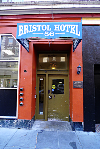 Bristol Hotel Entrance