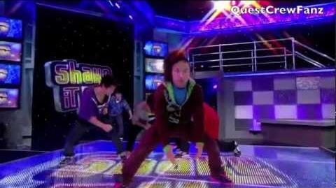 Quest Crew On Shake It Up Episode!