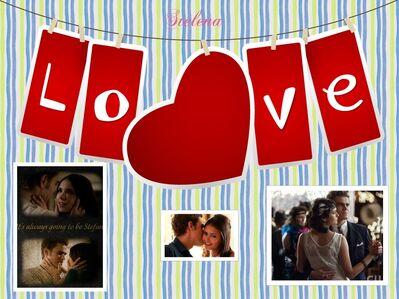 Stelena LOVE Fanart