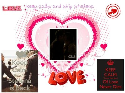 Keep Calm and Ship Stelena
