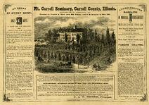 1873 Seminary ad