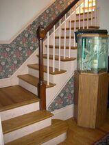Waukegan Hutchins building interior stairs
