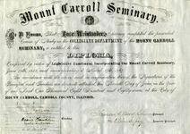 1887 diploma
