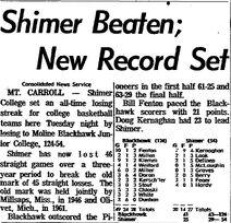 Morning Star.1963-12-11.Shimer Beaten; New Record Set