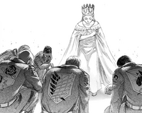 Historia is crowned as the new queen
