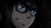 Eren expresses his desire to join the Recon Corps