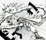 Murakumo Slashes a Titan