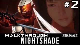 Nightshade Kunoichi PS2 Walkthrough Gameplay 2