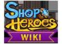 Shop Heroes Wikia Wordmark