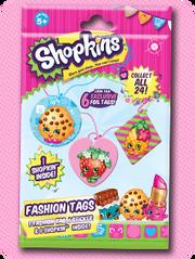 Shopkins fashion tags