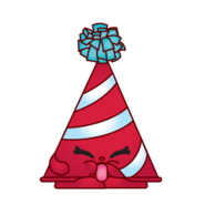 Marty party hat variant art