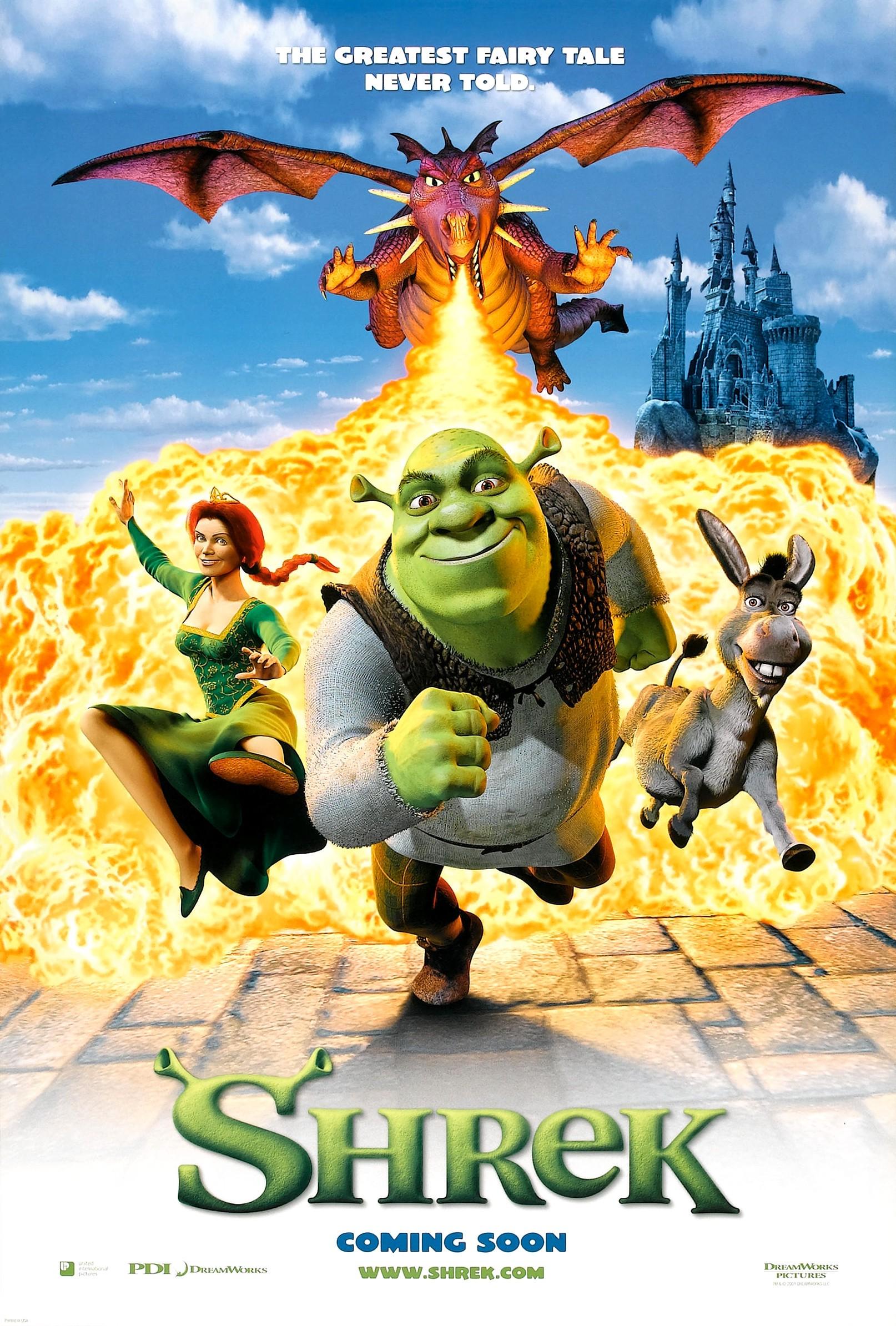 Image result for Shrek (2001)