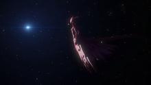 Gauna human form looking at Lem Star System