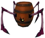 Barrel spider