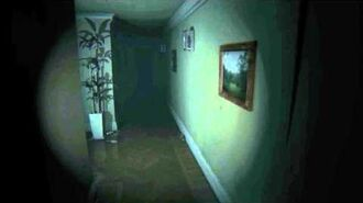 Lisa in the hallway