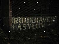 Brookhaven Asylum Sign
