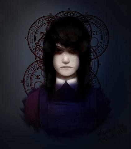 File:Silent hill dark alessa by khazuki-d5biz3n.jpg