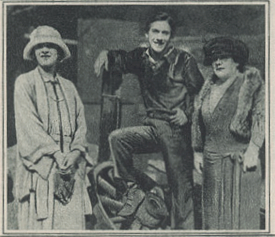 Marilyn Miller, Jack Pickford and Charlotte Pickford in 1924